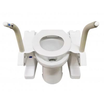 อุปกรณ์ช่วยลุกนั่งชักโครกสำหรับผู้มีปัญหาเข่าเสื่อม   หรือ โถสุขภัณฑ์ผู้สูงอายุAerolet Toilet Lift